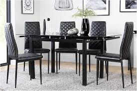 unbelievable black dining table chairs black dining sets furniture choice red and black dining table and