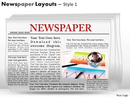Newspaper Powerpoint Template Interesting Picture PowerPoint Templates Slides And Graphics