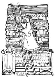 princess and the pea coloring page. princess coloring pages brings you these lovely \u0027princess and the pea\u0027 sheets. pea page