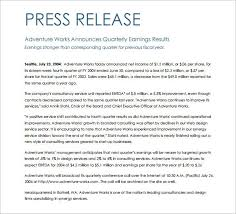 Press Release Templet 28 Press Release Template Word Excel Pdf Free Premium Templates