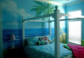 Beach Themed Bedroom Beach And Sea Themed Bedroom Decor White Pattern Cuahion And