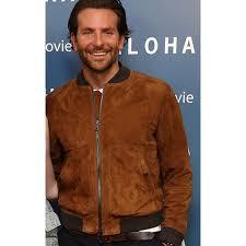 bradley cooper aloha brown suede jacket