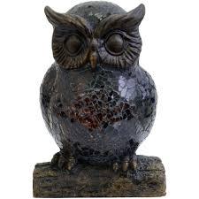 Better Homes And Gardens Bronze Resin Owl Night Lamp