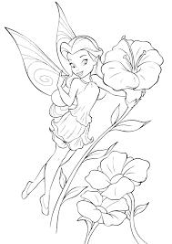Rosetta Vicino Ai Fiori Disegni Da Colorare Disney Fairies Disegni
