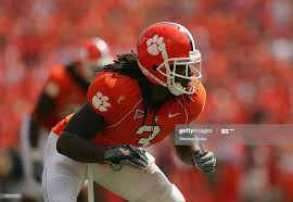 Duane Coleman of the Clemson Tigers gets set in his defensive... News Photo  - Getty Images