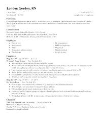 Graduate Nursing Resume Resume Objectives For Nursing New Graduate ...