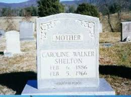 Sarah Caroline (Walker) Shelton (1886-1966) | WikiTree FREE Family Tree