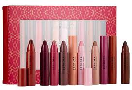 sephora kiss makeup lipstick pencil set