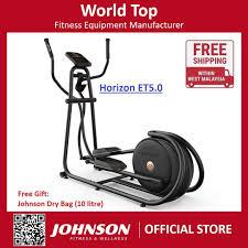 johnson fitness horizon citta et5 0 elliptical trainer