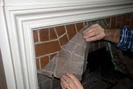 Paint Cleaning Brick Fireplace Front