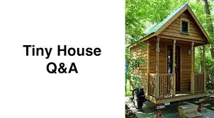 Small Picture Tiny House QA What about financing small houses Small House