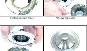 bathtub drain seal leaking classy idea how to fix overflow leak repair