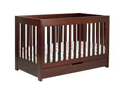 babyletto mercer 3 in 1 convertible crib in espresso w toddler rails babyletto furniture