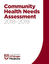 2018 2019 Community Health Needs Assessment Uchicago Medicine By