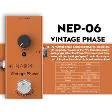 <b>NAOMI NEP 06</b> Electric Acoustic Guitar Effect Pedal Aluminum Alloy ...