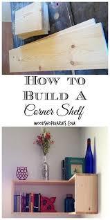 Do It Yourself Corner Shelves New The Turning PointDIY Corner Shelves Hometalk DIY Pinterest