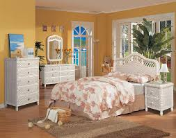 white wicker bedroom furniture. Perfect Furniture Santa Cruz Wicker Bedroom White Wash Finish In White Furniture