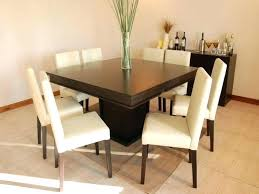 round table that seats 8 home and furniture miraculous square dining tables seating 8 on in
