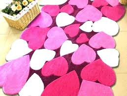 hot pink rugs round for nursery medium size of area fabulous light rug bright modern company