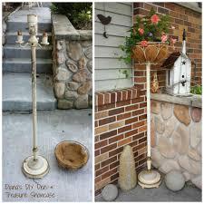Repurposing Repurposed Floor Lamp Planter Repurposed Floor Lamp And Planters