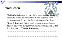 divorce essays introduction  divorce essays and papers 123helpme com