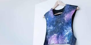 galaxy print t shirt