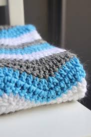 Double Crochet Chevron Pattern Stunning Pattern For Double Crochet Chevron Baby Blanket Chevron Baby