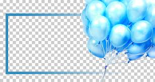 Floating Balloons Poster Floating Balloon Blue Balloons
