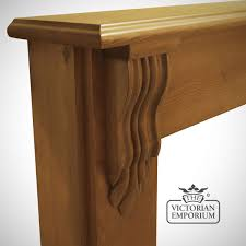 the scottish corbel wooden fireplace surround choice of pine and oak