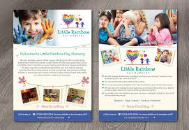 Child Care Brochure Design Elegant Playful Childcare Flyer Design For A Company By