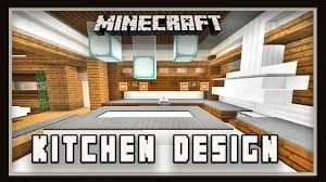 Minecraft Modern Kitchen Minecraft How To Make A Kitchen Design Modern House Build Ep 20