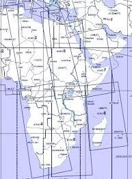 High Altitude Enroute Chart Africa A Hi 5 6 Jeppesen