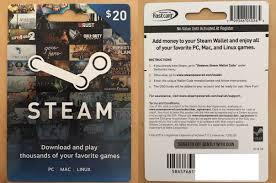 steam gift card 2016 photo 1
