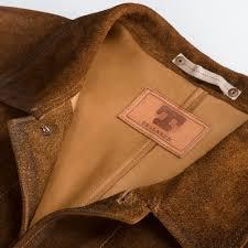 tellason leather jacket rough out