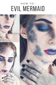 evil mermaid makeup tutorial