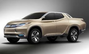 Mitsubishi GR-HEV Diesel-Hybrid Pickup Photos Leaked » AutoGuide.com ...