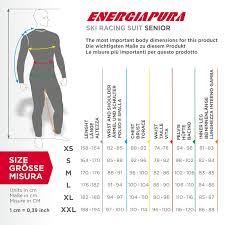 Energiapura Size Table Skicenter The Shop Of Ski