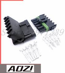 online get cheap connector delphi aliexpress com alibaba group Six Wire Flat Connectors Delphi 1 sets 6 pins way auto connector plugs high quality delphi 2 5 series connectors(china Delphi Automotive Wire Connectors
