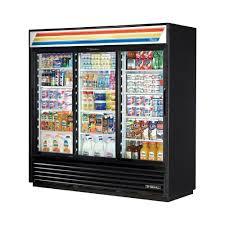 true mfg gdm 69 ld 3 sliding glass door merchandiser refrigerator 69 cu ft