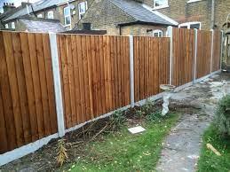 garden fencing services in north london