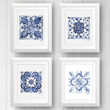 on mexican talavera wall art with portugal tile mexican talavera tile art prints tile wall art
