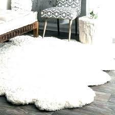 faux fur rug faux sheepskin rug white fur rug area rugs faux fur area rug