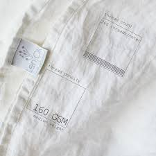 Linen Weight Chart Linen Thread Count And Gsm