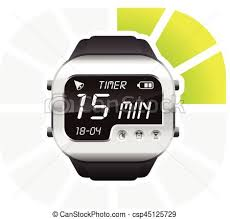 15 Min Timer Digital Watch Timer 15 Minutes