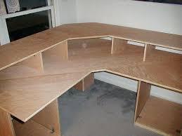 diy corner computer desk plans similr pln free diy corner desk plans