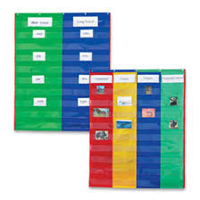 2 And 4 Column Double Sided Pocket Chart Pocket Charts