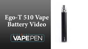 Ego T Battery Light Blinking Ego Vape Pen 510 Battery Video