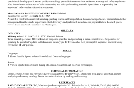 Military To Civilian Resume Examples Resume Help Military Resume