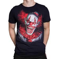 Scary T Shirts Designs Scary Clown Black T Shirt