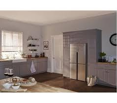 haier htf 452dm7 american style fridge freezer stainless steel